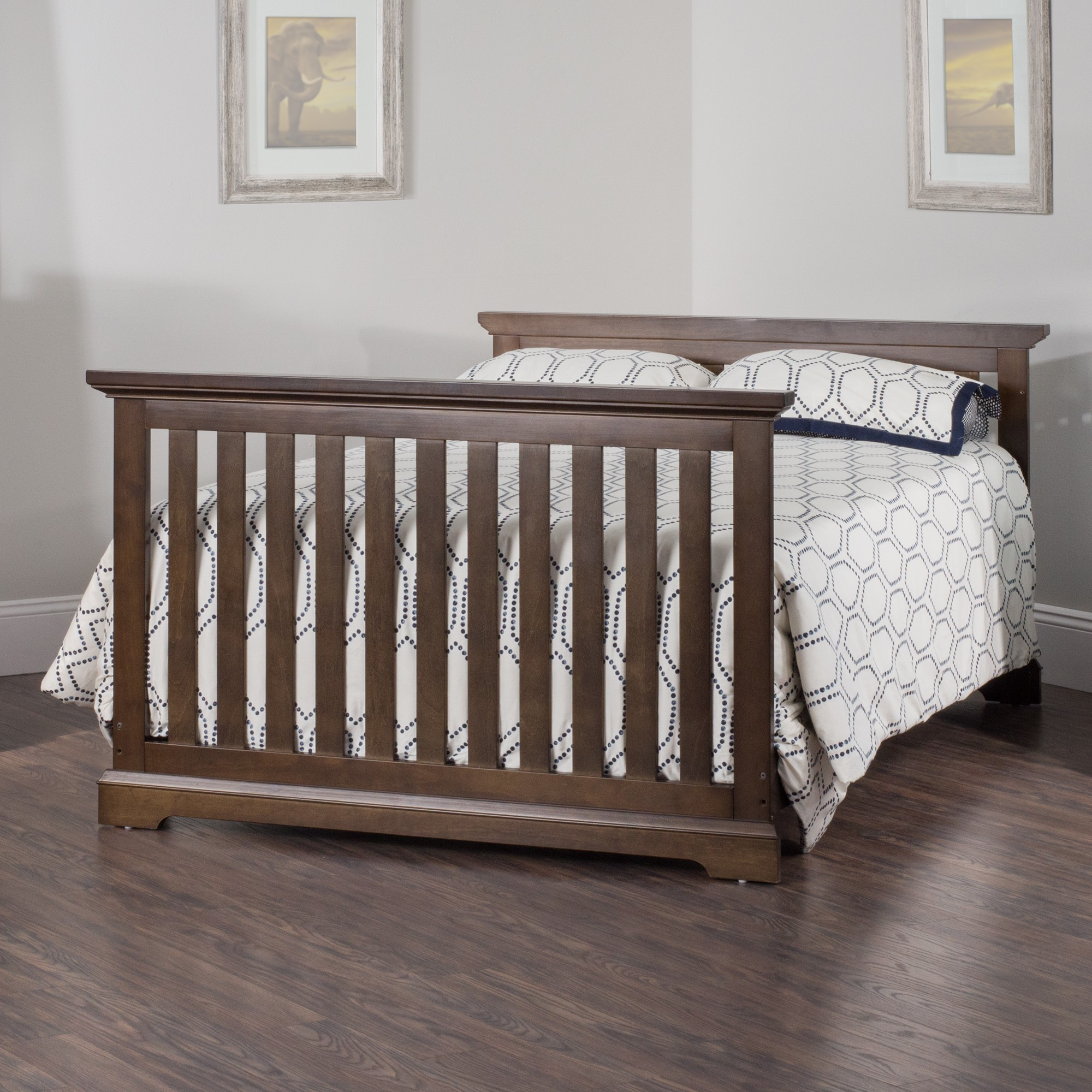 Kayden 4 in 1 convertible crib child craft for Child craft london crib instructions
