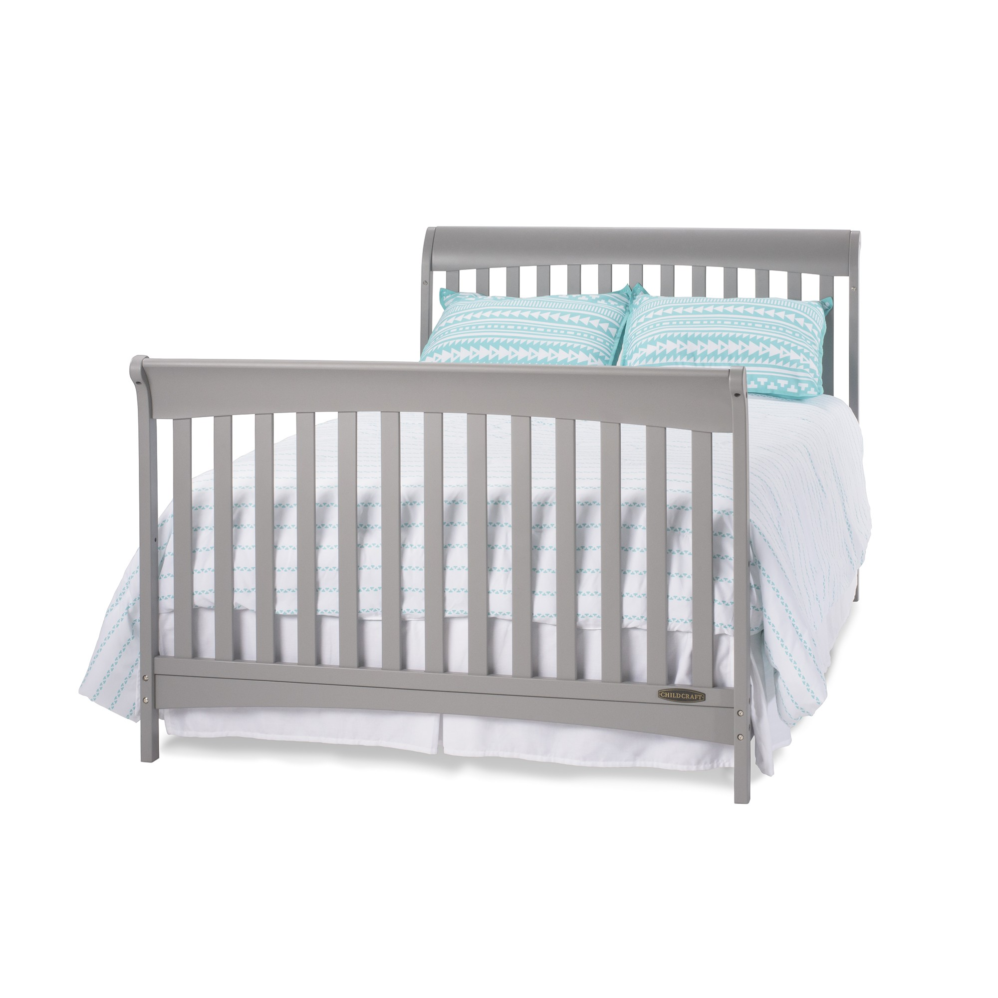 Coventry full size 4 in 1 convertible child craft crib for Child craft soho crib natural