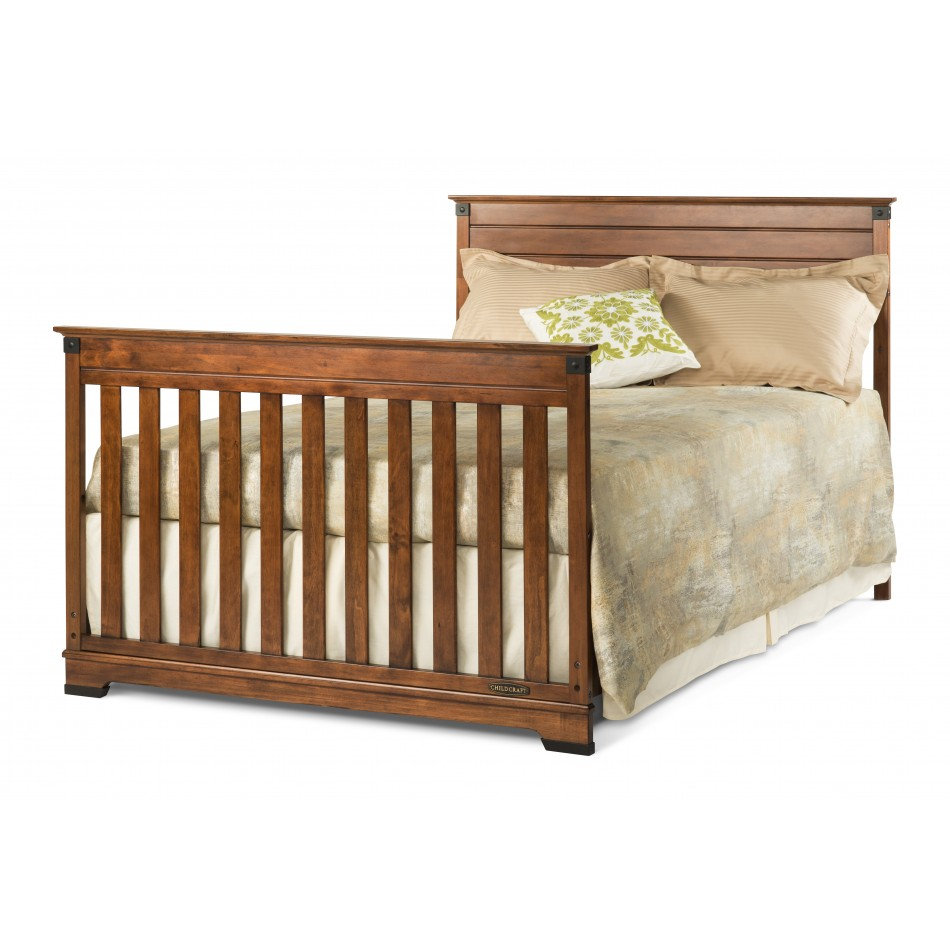 Redmond 4 in 1 convertible crib child craft for Child craft soho crib natural