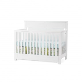 Abbott 4-in-1 Convertible Crib - Matte White