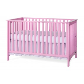 London Euro Traditional Pink Child Craft Crib