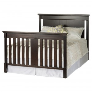 Bradford Full Size Convertible Full Bed-Rich Java