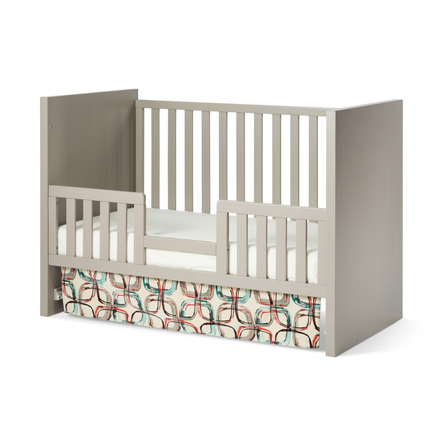 Loft 3-in-1 Convertible Crib in Potters Clay finish Toddler Bed