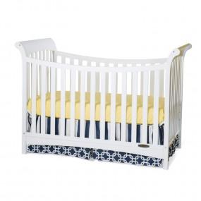 Ashton 3-in-1 Traditional Crib - Matte White