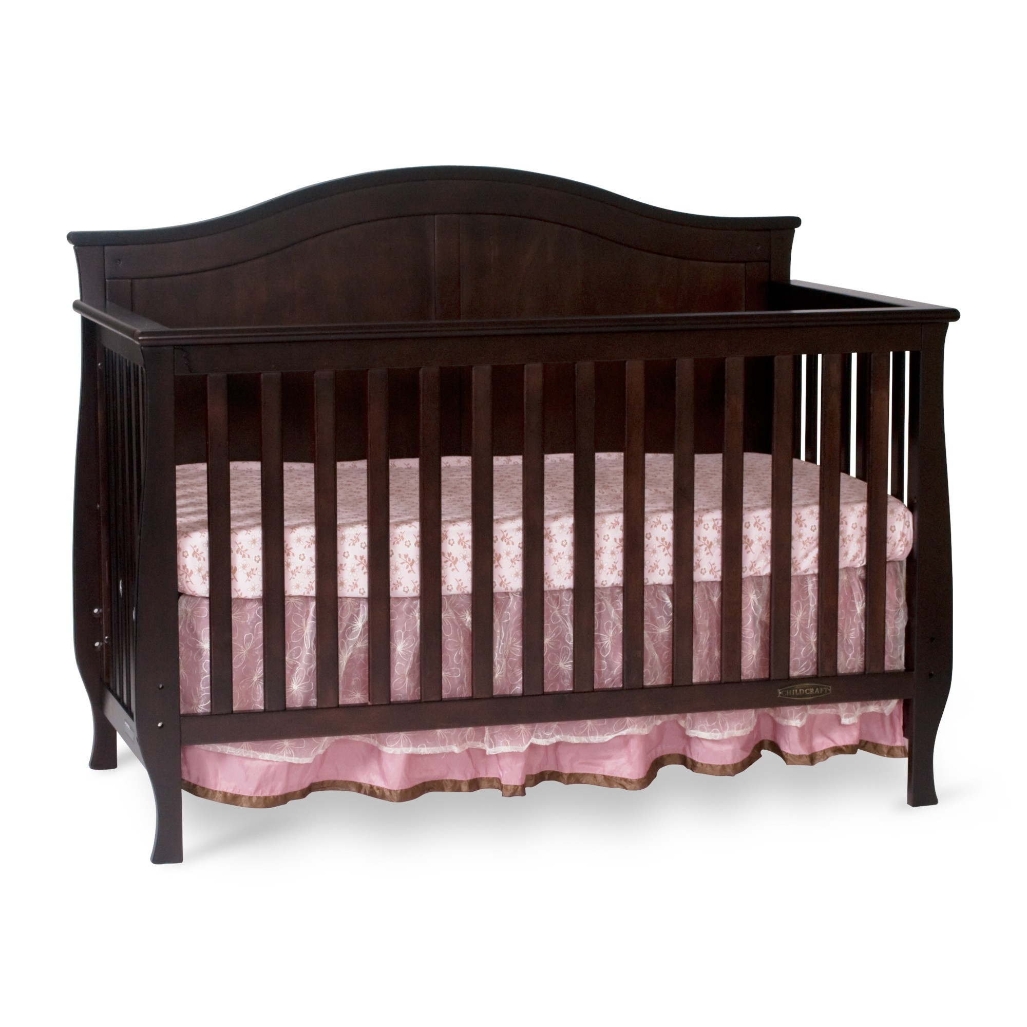 slate cribs craft child crib toddler in guard item rail convertible camden