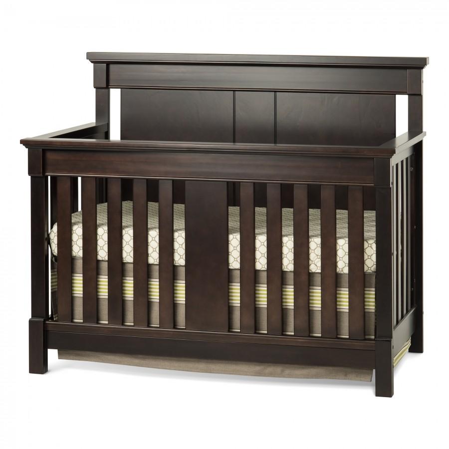 Bradford Full Size Convertible Crib-Rich Java