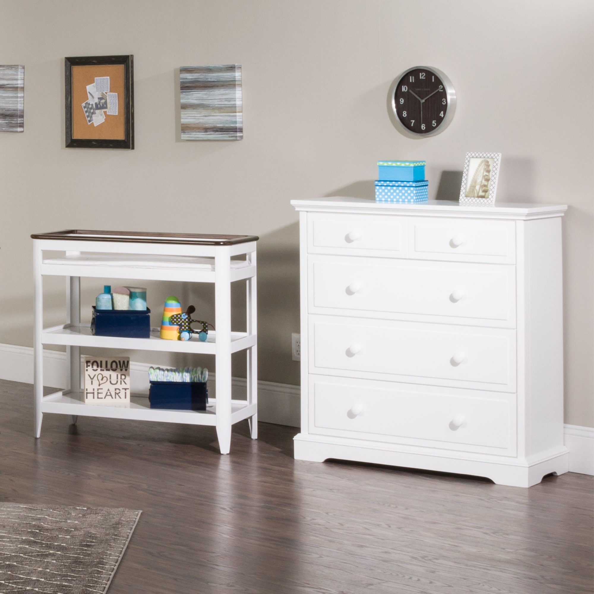 shipping drawer overstock drawers changer tables with free modo today tray garden removable home changing dresser product babyletto
