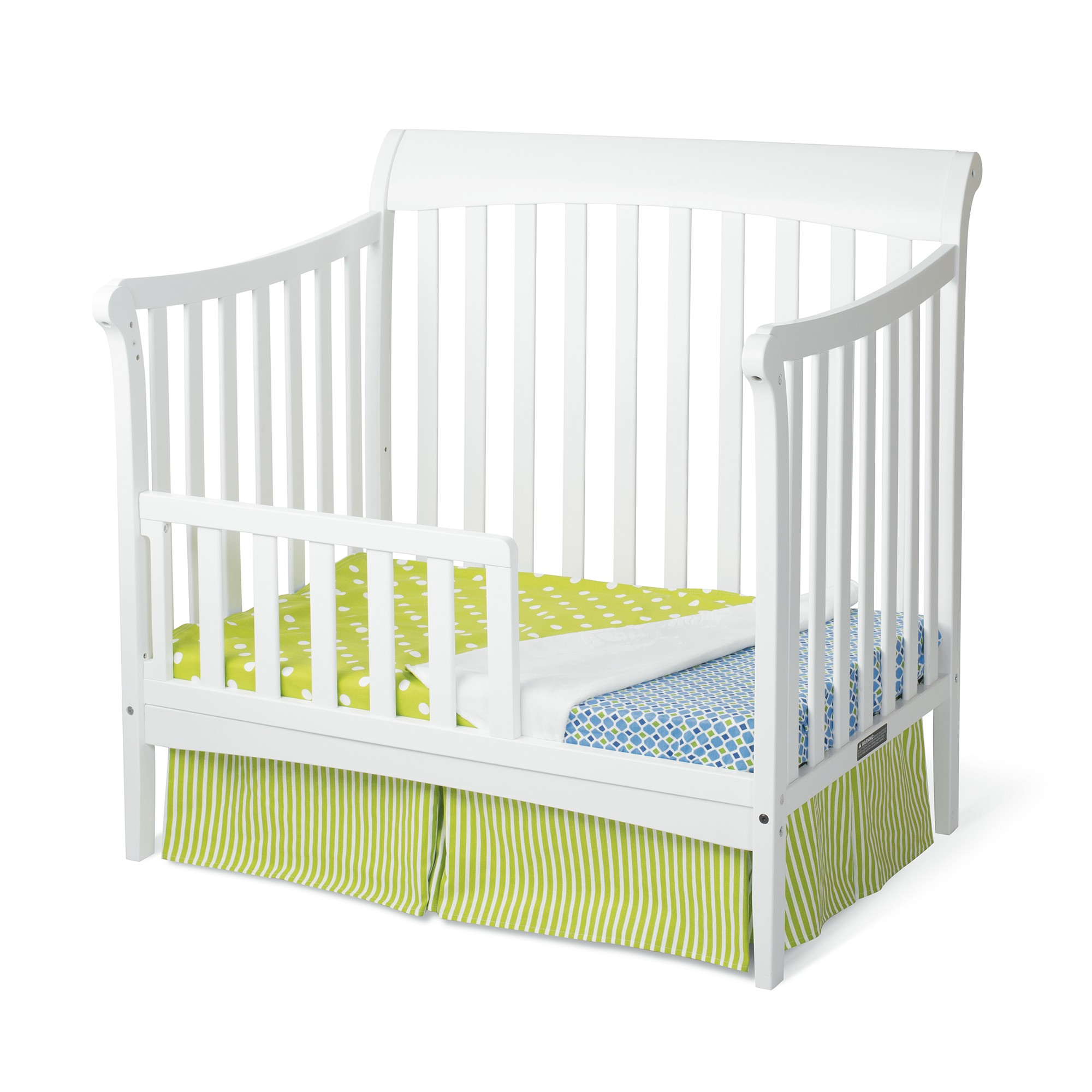 hi cribs angle delta products epic res in crib children toddler bed grey