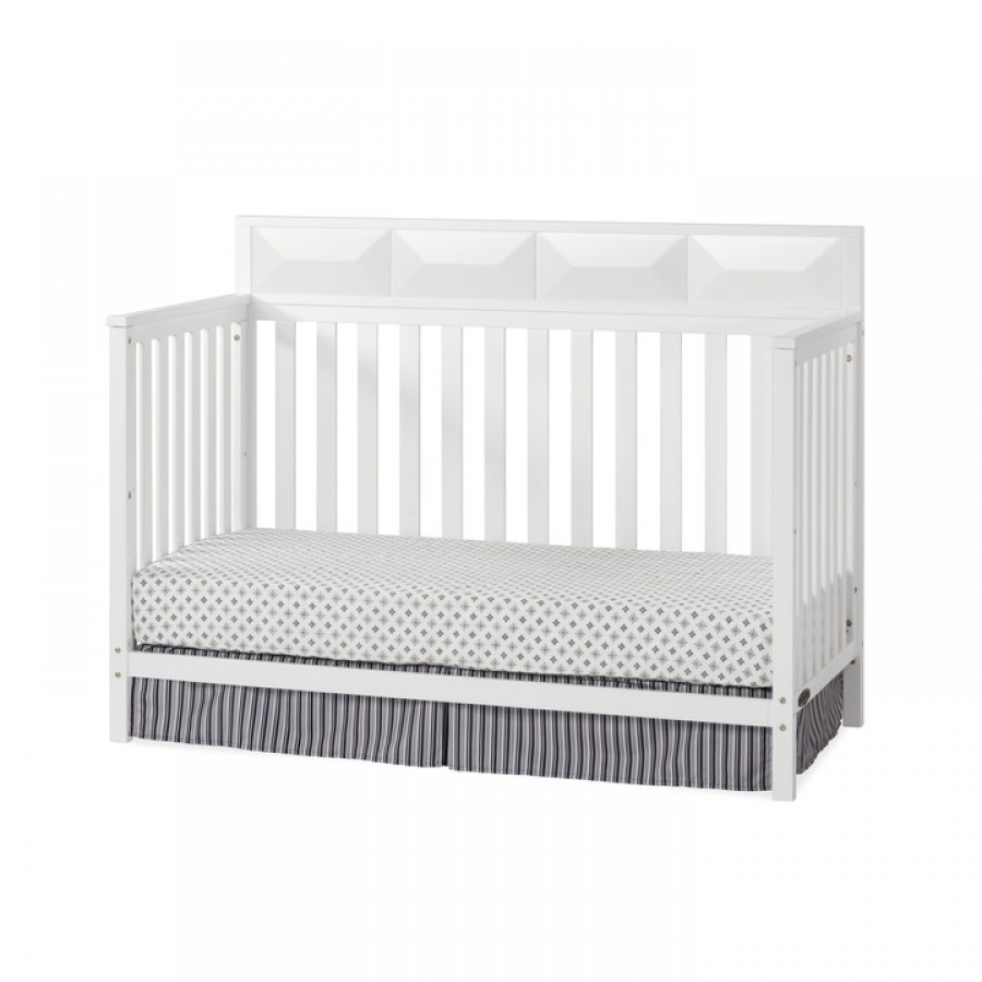 White Convertible Crib Million Dollar Baby White Crib Broyhill Kids Bowen Heights 4in1