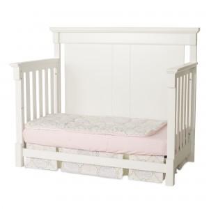 Bradford Full Size Convertible Day Bed-Matte White
