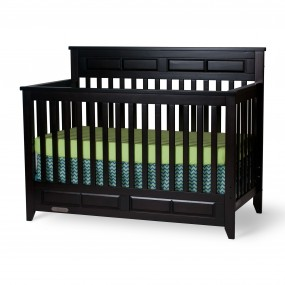 Logan Convertible Child Craft Crib Jamocha