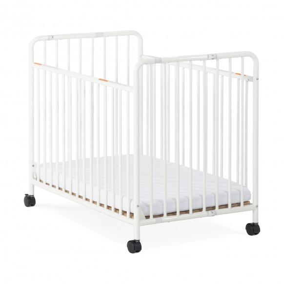 Child Craft Little Dreamer Metal Folding Compact Crib