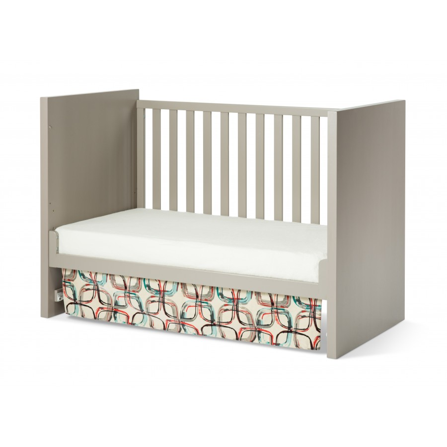 Loft 3-in-1 Convertible Crib in Potters Clay finish Day Bed