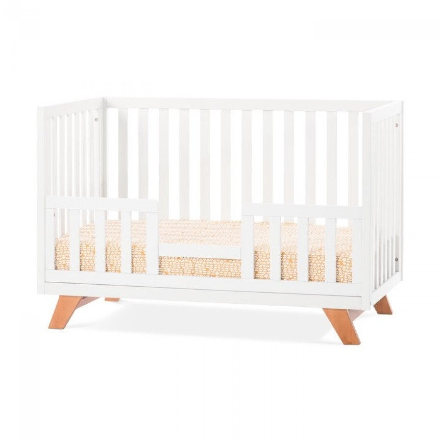 Forever eclectic soho 4 in 1 convertible crib child craft for Child craft soho crib natural