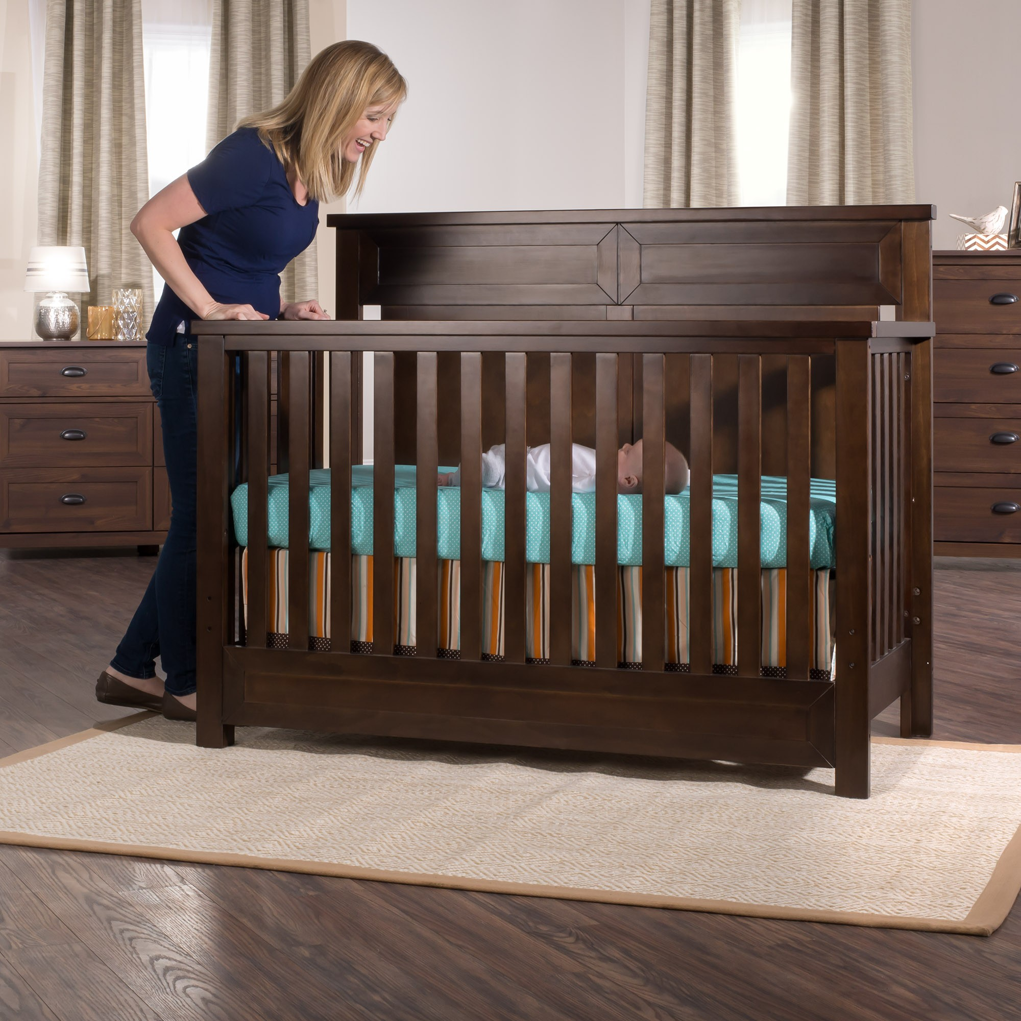 Abbott 4 In 1 Convertible Crib Child Craft