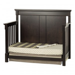 Bradford Full Size Convertible Day Bed-Rich Java