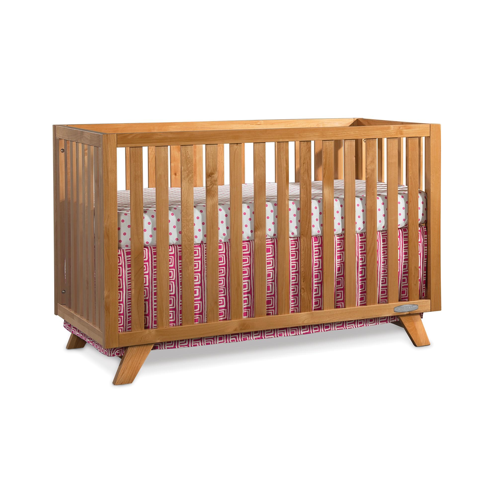 Baby cribs natural wood - 18