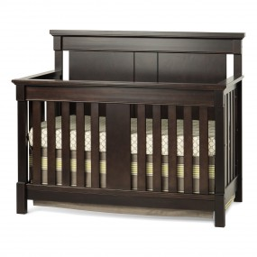 Bradford Full Size Convertible Crib-Rich Java