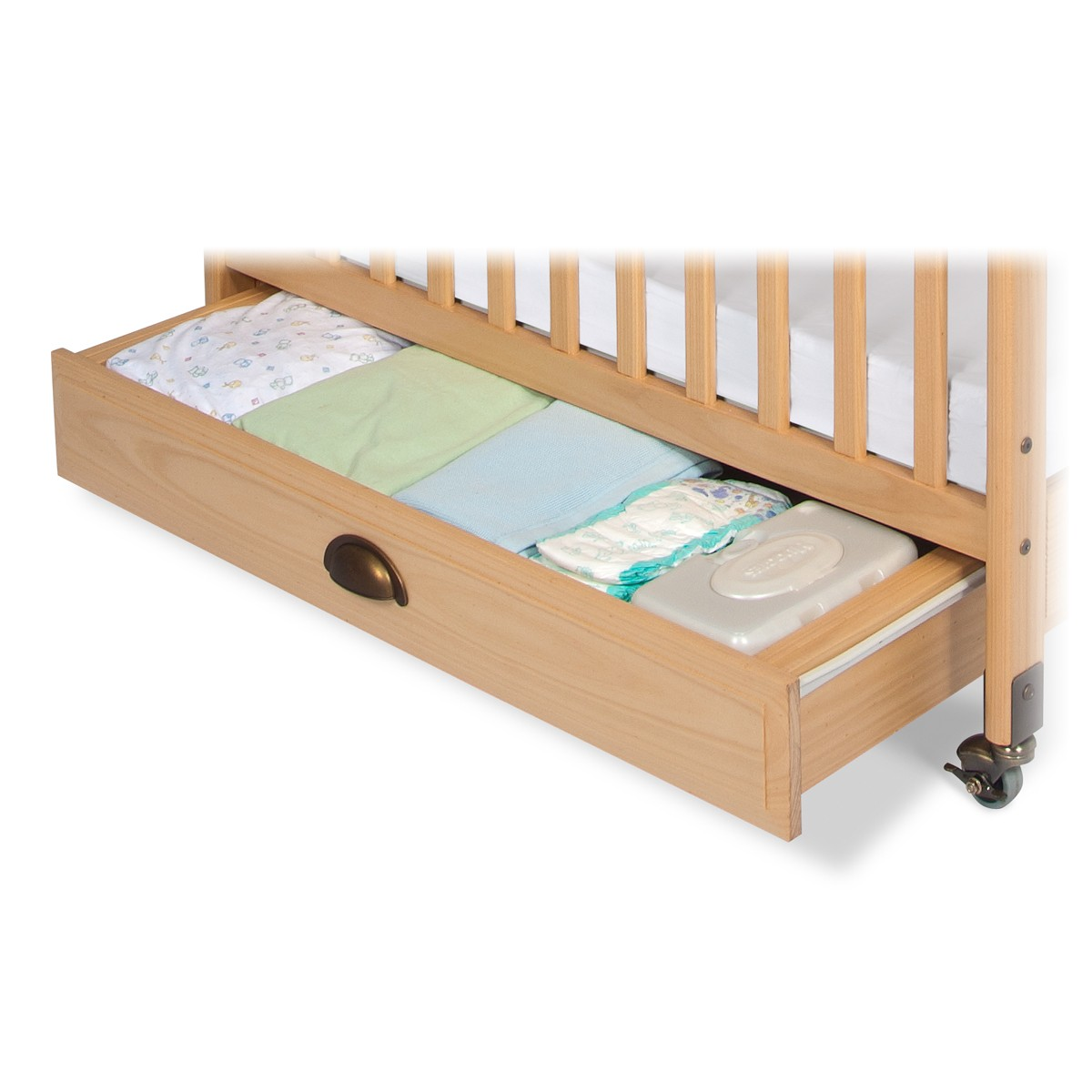 Crib drawer child craft for Child craft soho crib natural