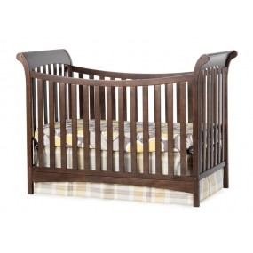 Ashton 3-in-1 Traditional Crib - Slate