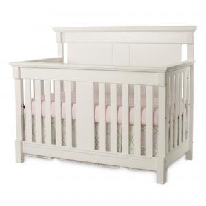 Bradford Full Size Convertible Crib-Matte White