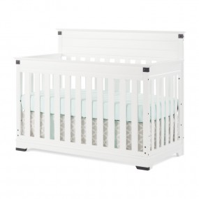 Redmond 4-in-1 Convertible Crib - Matte White