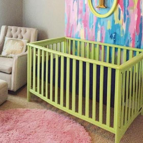 Best modern baby cribs child craft for Child craft london euro crib