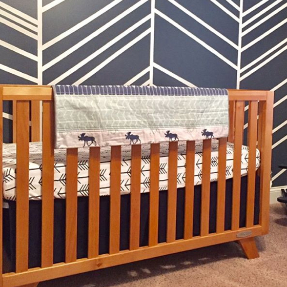 Best modern baby cribs child craft for Child craft soho crib natural